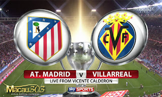 Prediksi Judi Bola Atletico Madrid vs Villarreal 26 April 2017