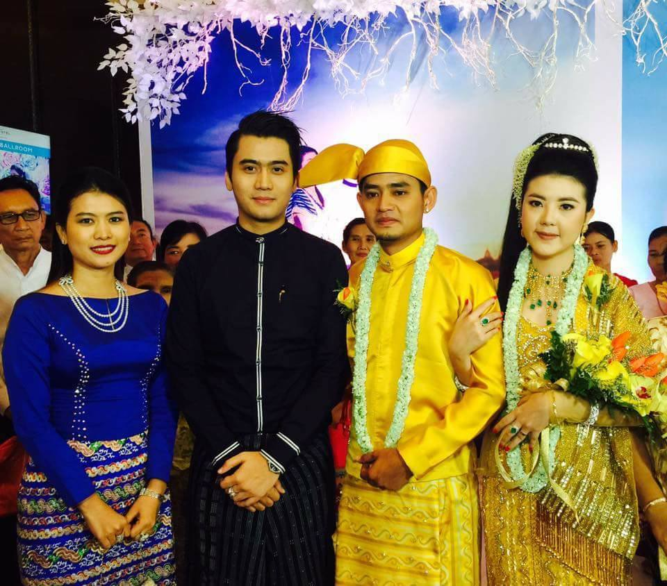 Myint Myat Wedding Day Snapshots Collection 1  - papawady