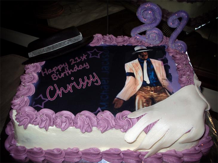 Delana S Cakes Michael Jackson Picture Cake