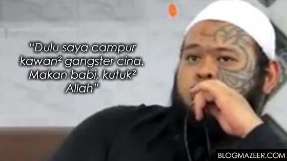 Abang Long Fadzil, Bekas Gangster Singapura Dedah Kisah Hidup
