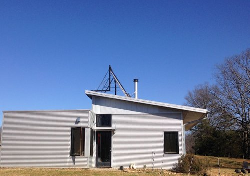 Just Miles From The Off Grid Modern Prefab House The