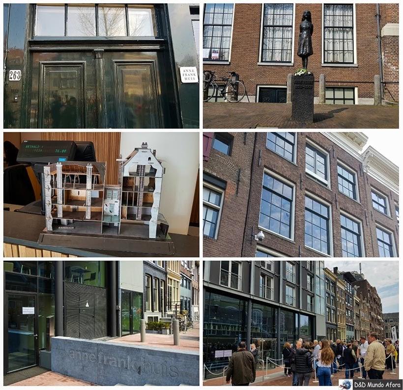 Casa de Anne Frank - Diário de Bordo - 2 dias em Amsterdam