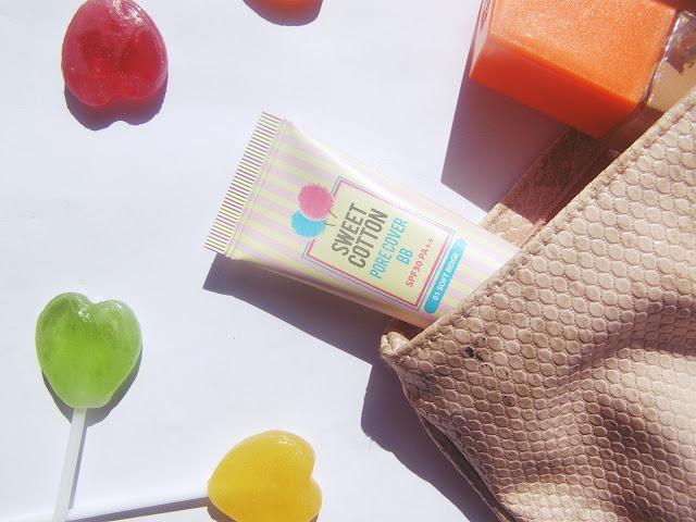 Holika Holika Sweet Cotton Pore Cover BB 01 Soft Beige