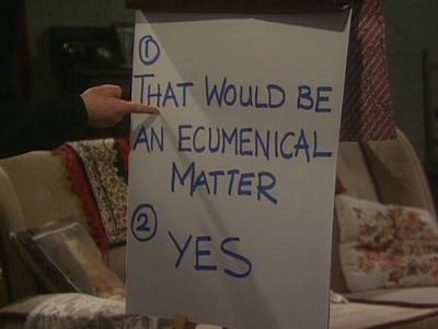 ecumenical matter