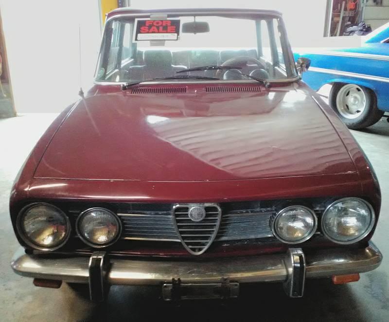 Daily Turismo Not A Lot Of Lira 1969 Alfa Romeo Berlina