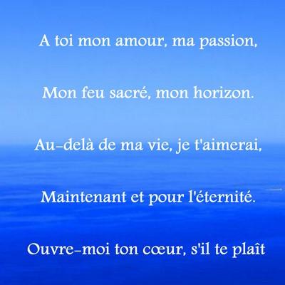 Bekannt des petits poèmes d'amour ~ Poème et Textes d'amour PX77