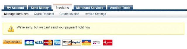 Mengatasi Paypal Gagal Mengirim Pembayaran