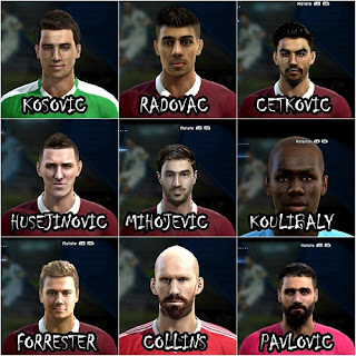 First facepack PES 2013 by bosanac12