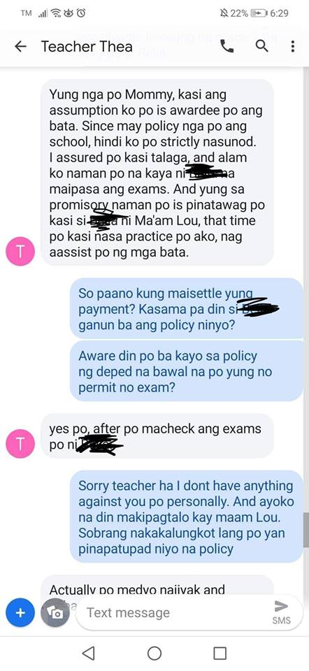 Grade 1 pupil allegedly removed from list of awardees for failure to settle tuition
