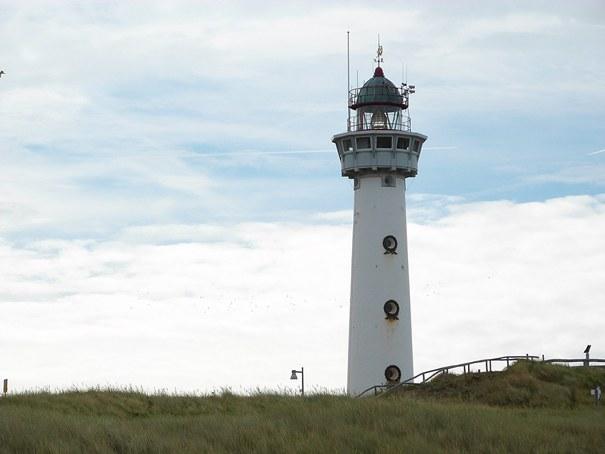 Leuchturm in Egmond aan Zee