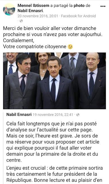 Mennel Ibtissem apprécie les analyses politiques d'un des Frères Musulmans français les plus actifs, Nabil Ennasri