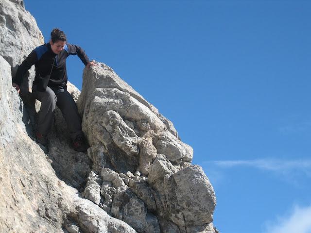 Rutas Montaña Asturias: Descenso directo del pico Tesorero