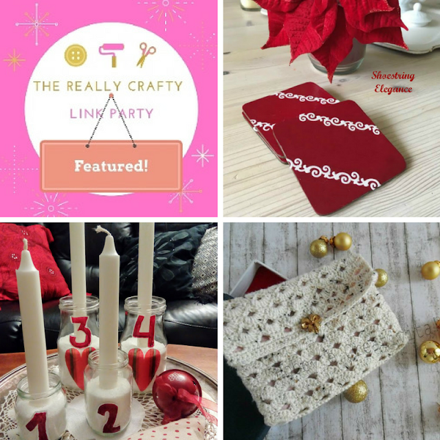 The Really Crafty Link Party #45 featured posts