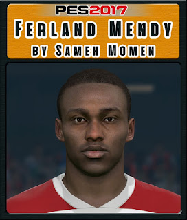 PES 2017 Faces Ferland Mendy by Sameh Momen