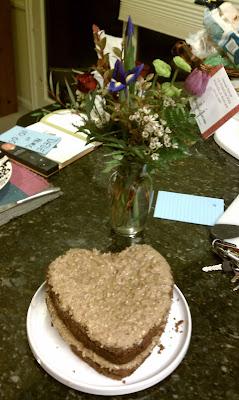 German's Chocolate cake baked for my birthday by Dorinda