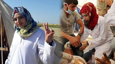 5 Fakta Razan  Al Najjar Tewas Ditembak Israel Di Gaza