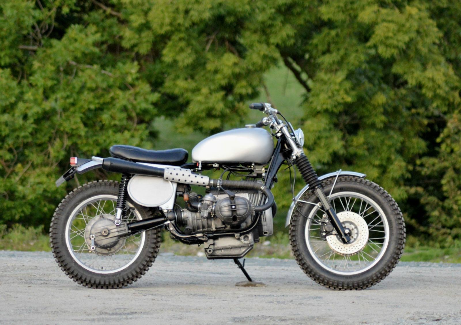 Connu Dust Motorcycles BMW R80 Scrambler TRI-BEEMER - RocketGarage  EZ54