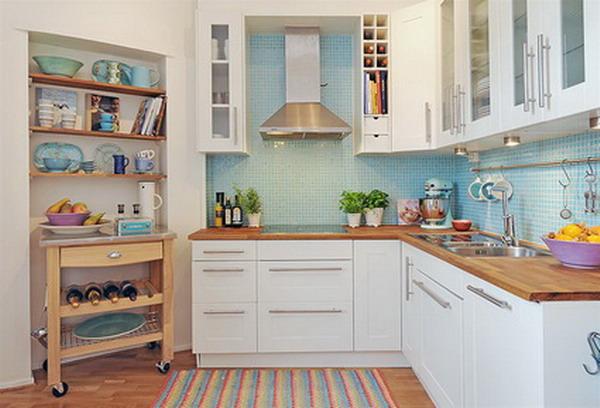 Modern White kitchen furniture 5