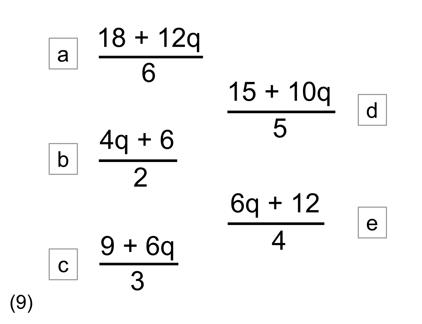 MEDIAN practice and quiz questions: odd one out 2