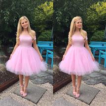 Drop Sparkle. Jones & Margot Pink Tutu Dress
