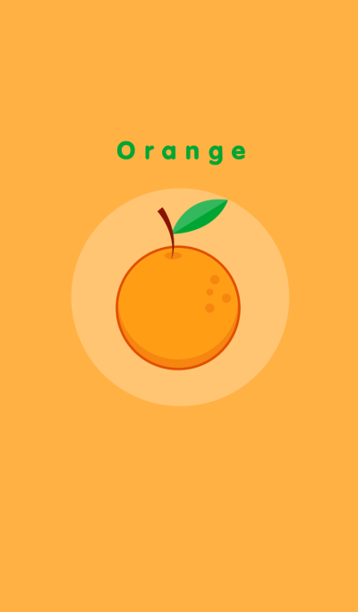 Orange fruit theme