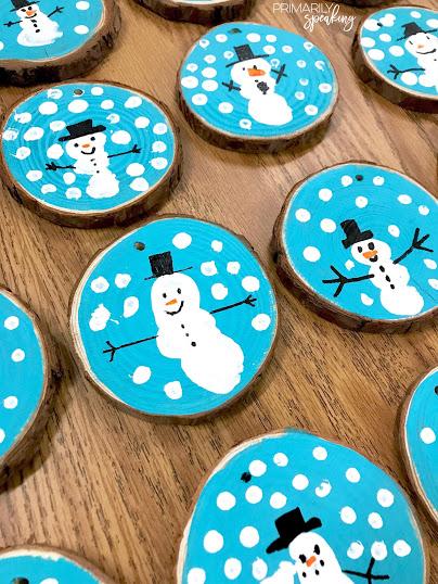 snowman ornament tutorial