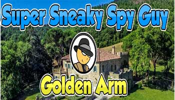 Juegos de Escape - Super Sneaky Spy Guy: Golden Arm