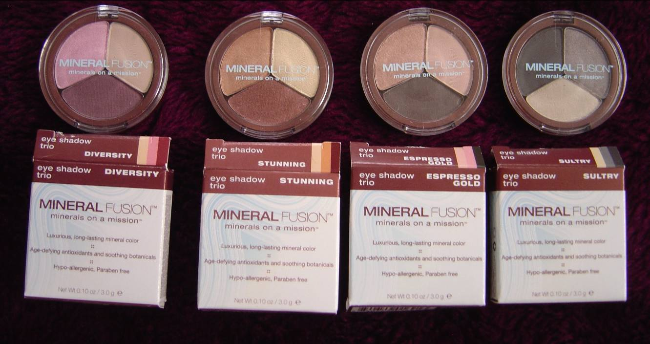 Mineral Fusion Cosmetics Eye Shadow Trios Review (Diversity, Stunning, Espresso Gold, Sultry).jpeg