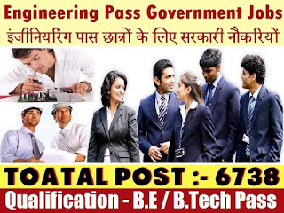 Engineering Government Jobs, Sarkari Naukri