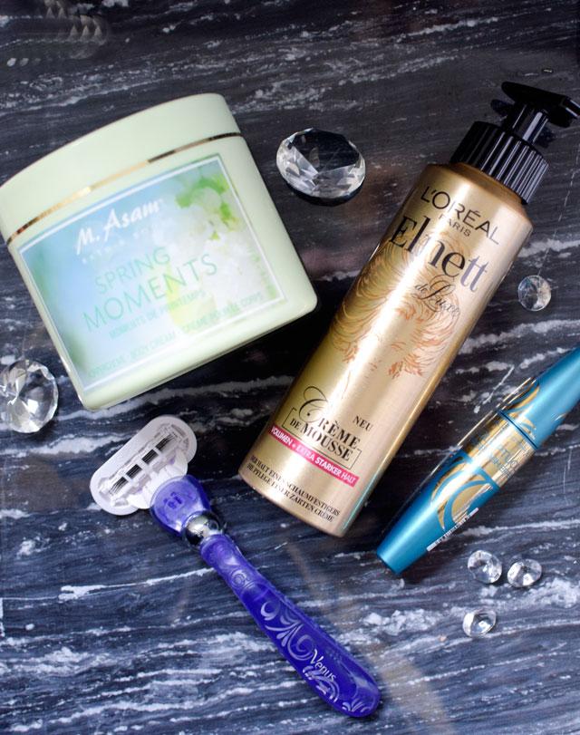 Neue Produkte von L'Oréal, Max Factor, M.Asam und Gilette