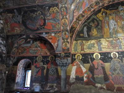 Iglesia Asunción de la Virgen María. Monasterio Bachkovo, Bulgaria