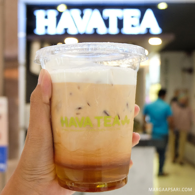 Iced Banana Tea Latte Hava Tea