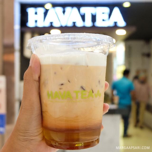 Iced Banana Tea Latte Hava Tea