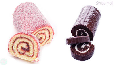Swiss roll, Swiss roll food