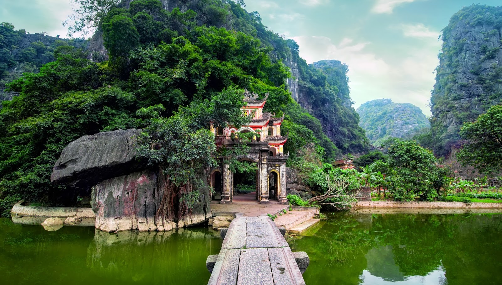 Pagoda Bich Dong, Tam Coc (Vietnam)