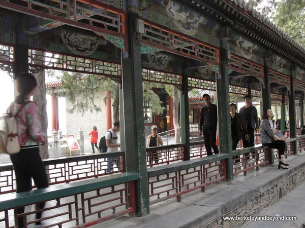 Long Corridor at Summer Palace in Beijing, China