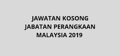 Jawatan Kosong Jabatan Perangkaan Malaysia 2019