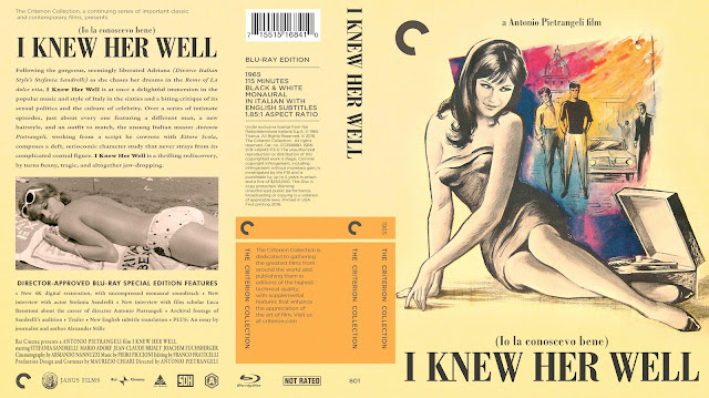 I Knew Her Well Bluray Cover