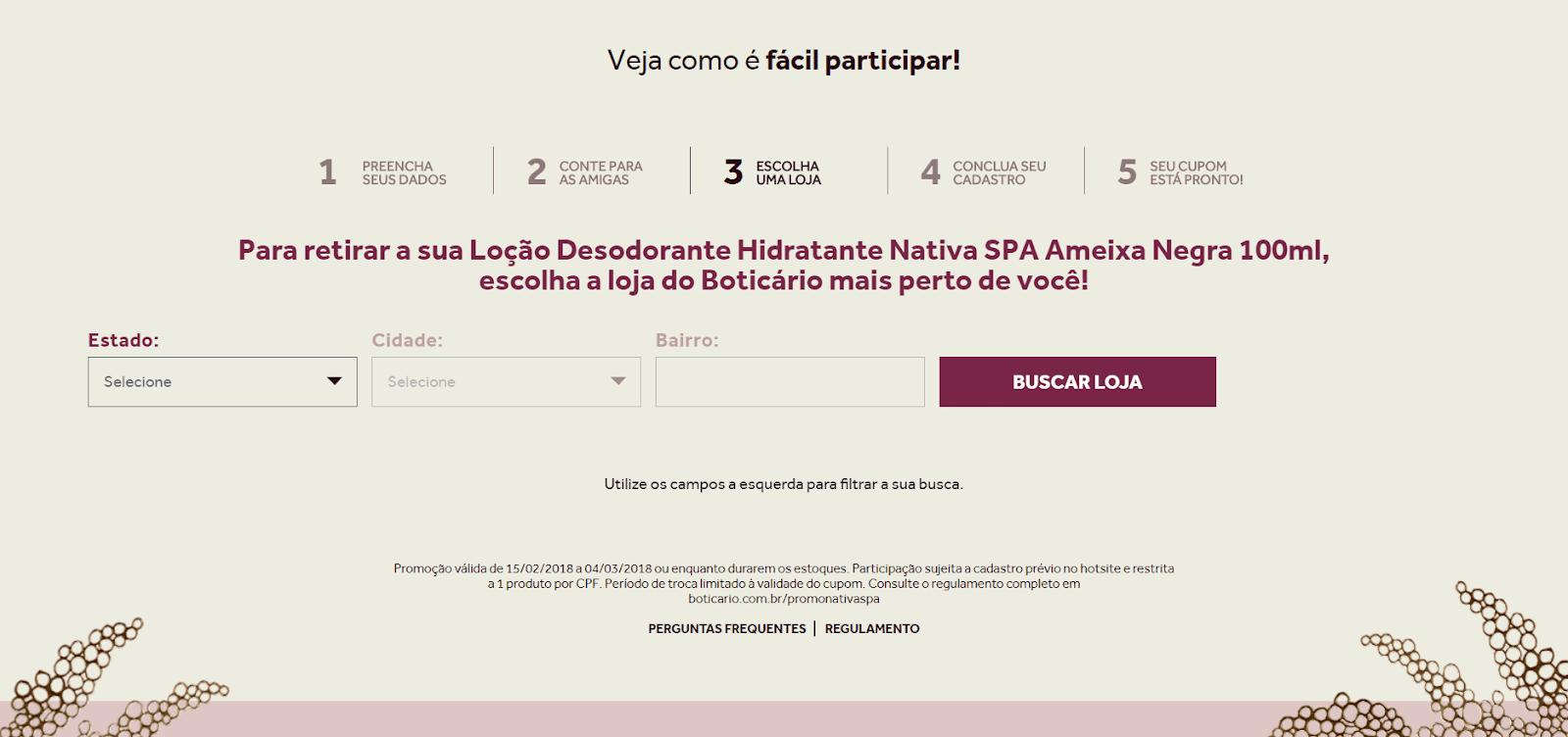 Nativa Spa Ameixa Negra O Boticário