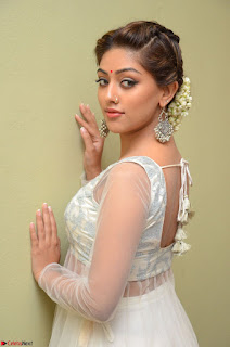 Anu Emmanuel in a Transparent White Choli Cream Ghagra Stunning Pics 055.JPG