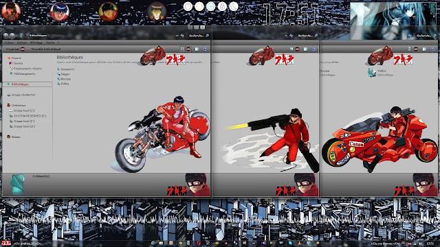 Akira Theme Win 7 by Andrea_37