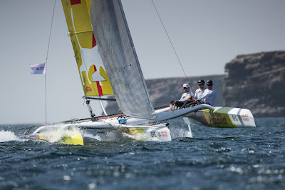 Bernard Stamm, 5e du Sailing Arabia The Tour