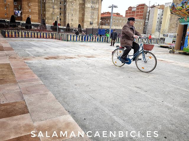 Salamanca, bicicleta, bici