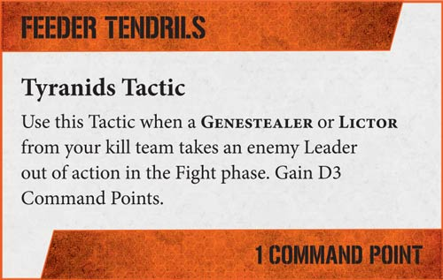 Tácticas Kill Team Tiránidos