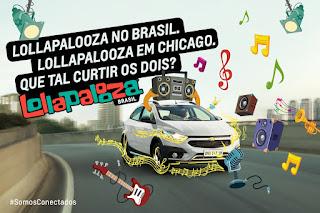 Promoção Chevrolet Onix Lollapalooza