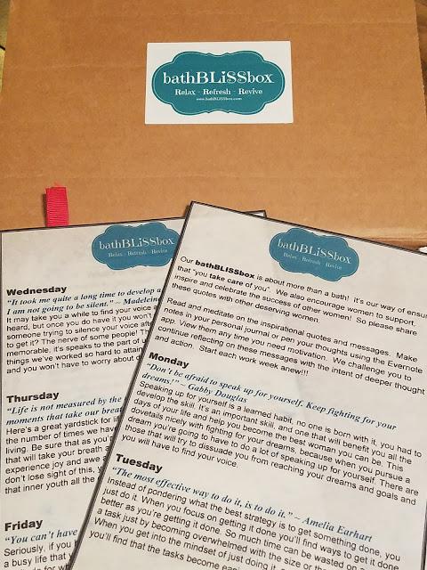 bath bliss box review