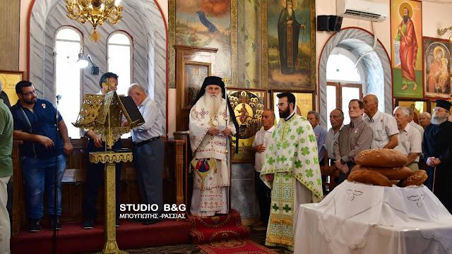 Αρχιερατική Θεία Λειτουργία για την Αγία Κυριακή στο Λάλουκα Αργολίδας