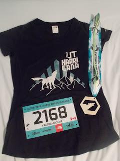 UTHC, Harricana, médaille, dossard, T-shirt