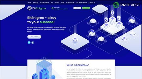 BitEnigma: обзор и отзывы о bitenigma.io (HYIP платит)