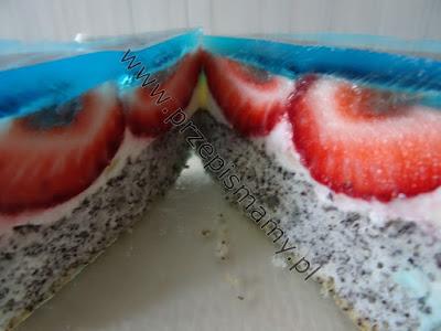 """Ciasto """"Truskawkowy Szał"""""""